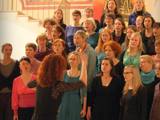 Chorallen Dresden in Hellerau
